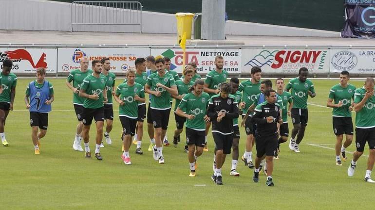 Jorge Jesus levou 30 jogadores para o estágio na Suíça