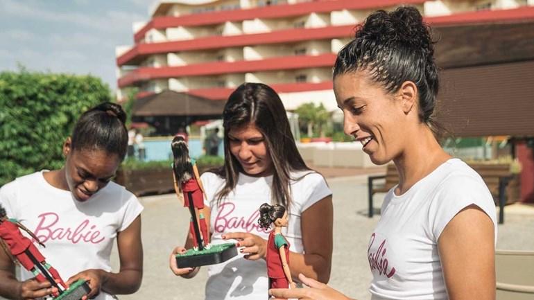 Barbie em versões Cláudia Neto, Ana Borges e Diana Silva? Sim, aí estão elas...