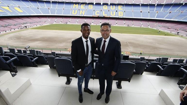 Nélson Semedo: «É um orgulho enorme vestir a camisola do Barcelona»