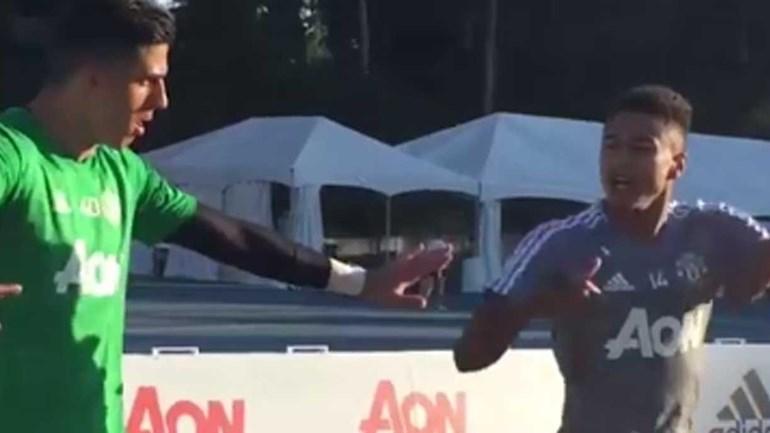Chatear Jesse Lingard no Manchester United não dá bom resultado