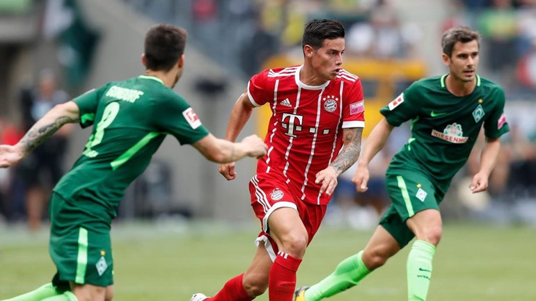 Lewandowski marca e James estreia-se pelo Bayern — VÍDEO