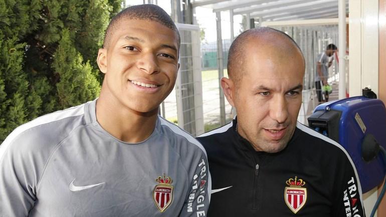 Leonardo Jardim não quer perder Mbappé: