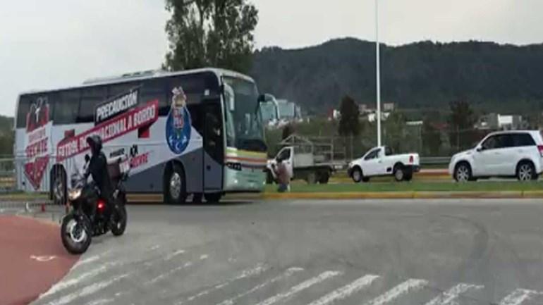 FC Porto já chegou ao estádio