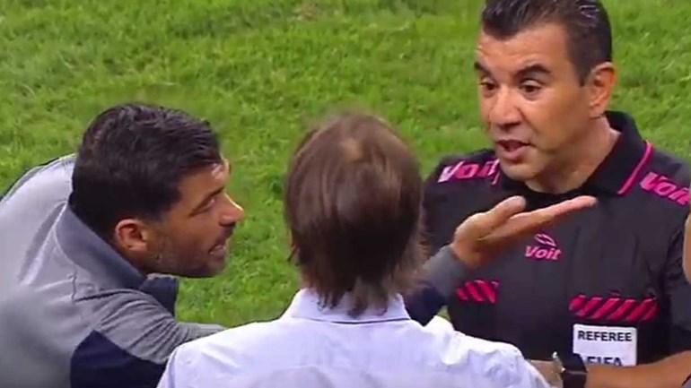 Palavra 'ridículo' provocou tamanha confusão entre Sérgio Conceição e o árbitro