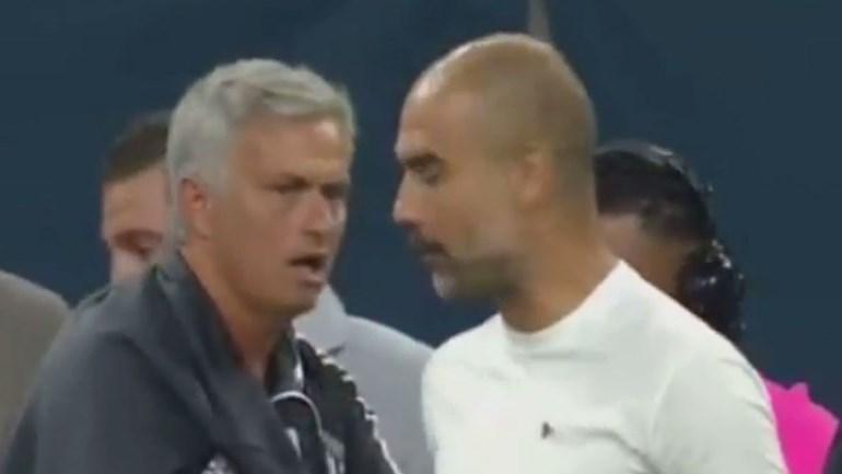 A conversa entre Mourinho e Guardiola que já está a dar polémica