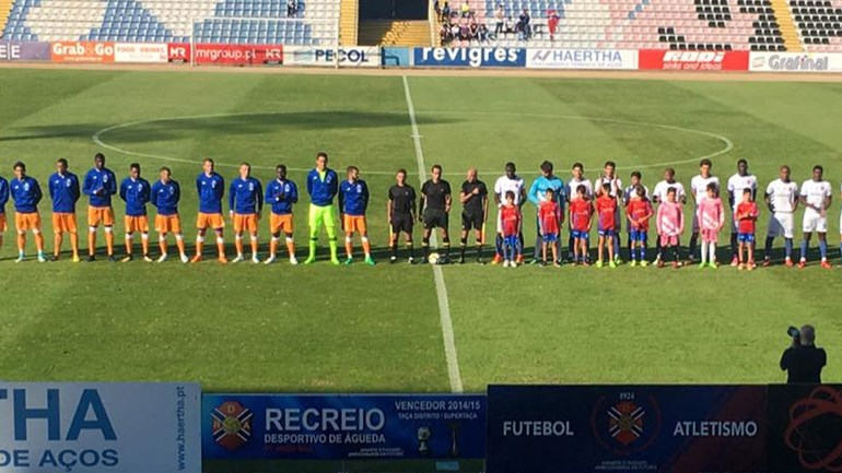 Recreio de Águeda vence FC Porto B por 1-0