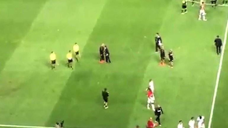 Assim foi o reencontro entre Jardim e Bruno de Carvalho