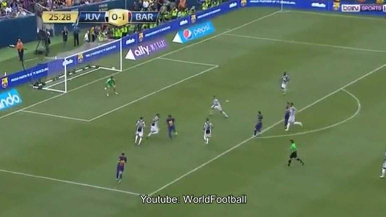 Neymar fintou meia equipa da Juventus e... apontou um golaço