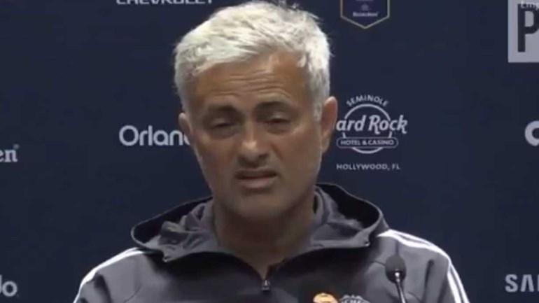 Mourinho 'apaga' caso De Gea... 'queimando' o Real Madrid