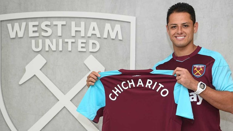 Chicharito é anunciado: 'West Ham é um clube histórico e muito ambicioso'