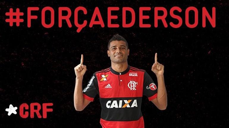 Ederson, médio do Flamengo, diagnosticado com tumor nos testículos