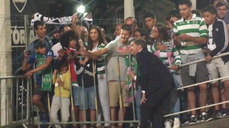 Apesar da pesada derrota, Bruno de Carvalho não teve mãos a medir