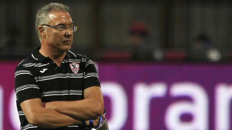 Inácio explode contra o presidente do Zamalek em conferência de imprensa