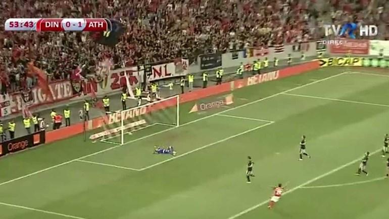 Este golo espantoso do filho deixou Rivaldo eufórico