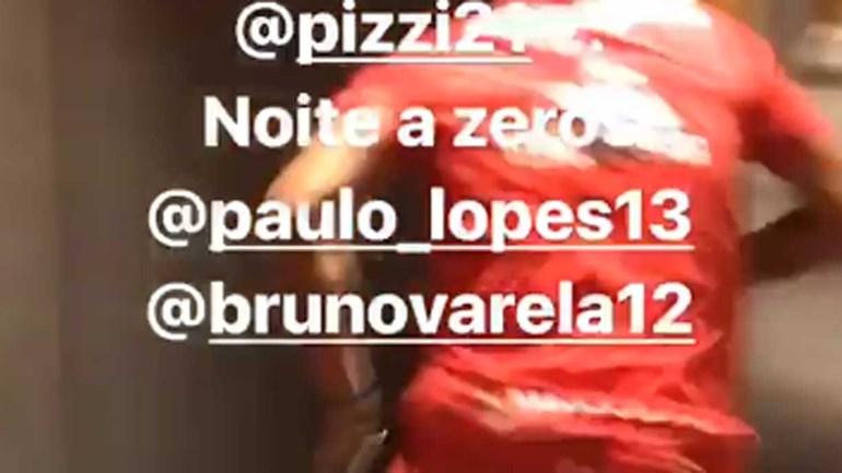A batatata no estágio do Benfica vista por André Almeida