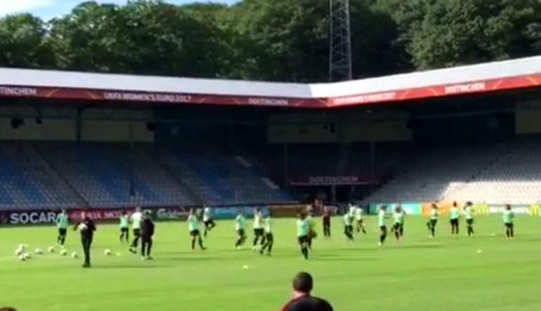 Seleção feminina prepara-se para a estreia no Euro'2017