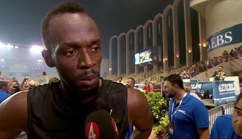 Ibrahimovic ou Bolt no ataque do Man. United? Jamaicano tem a resposta