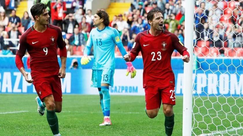 Portugal-México, 2-1 (a.p.)