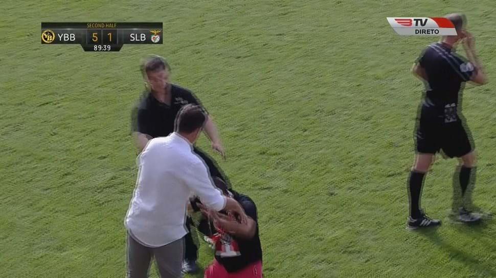 Benfica goleado no segundo jogo de pré-época