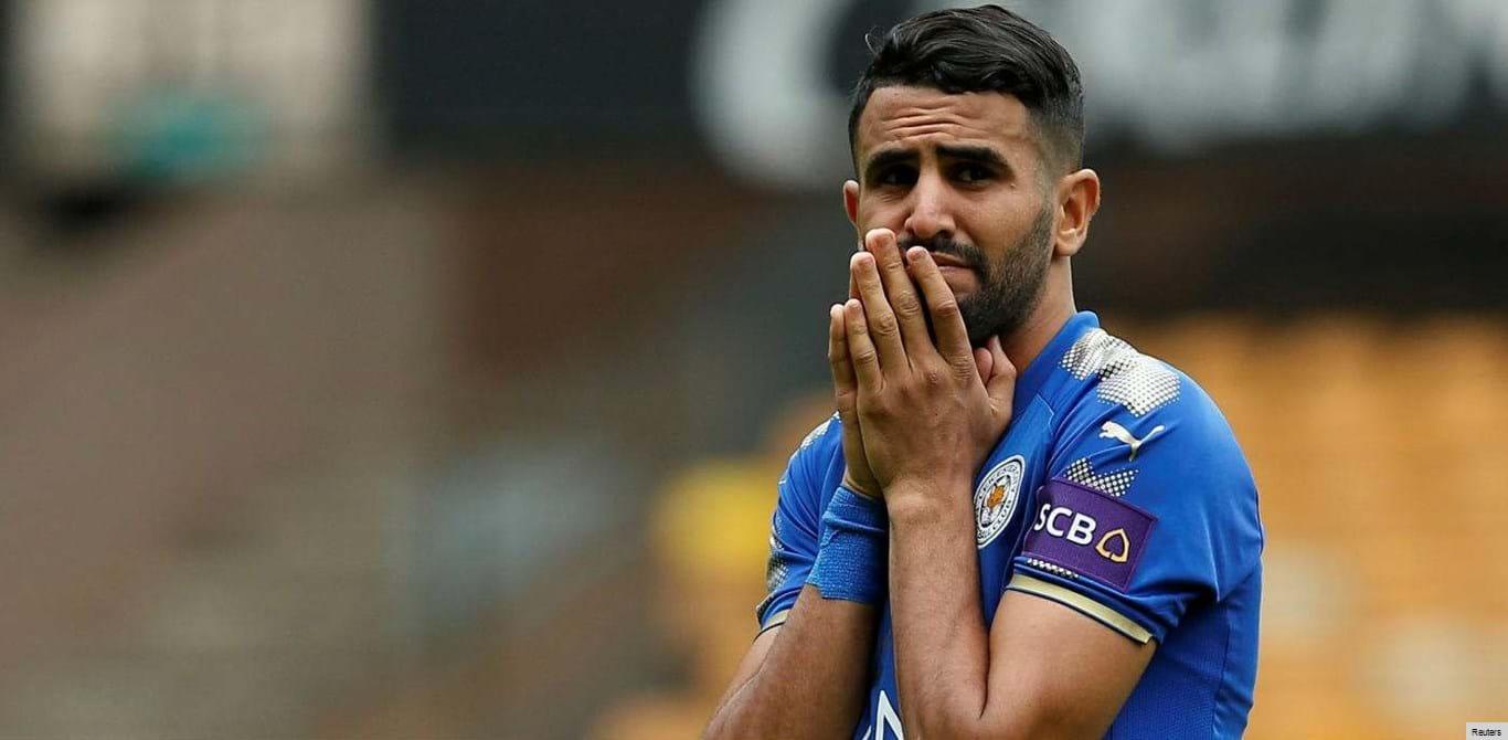 Roma faz ultimato ao Leicester por causa de Riyad Mahrez