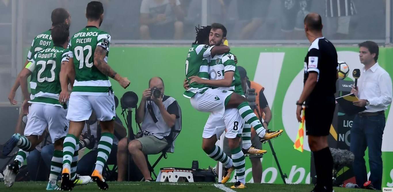 V. Guimarães-Sporting, 0-5 (resultado final)