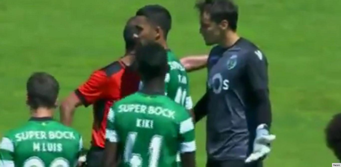 Sporting condena palavras de Jorge Sousa dirigidas a guarda-redes da equipa B