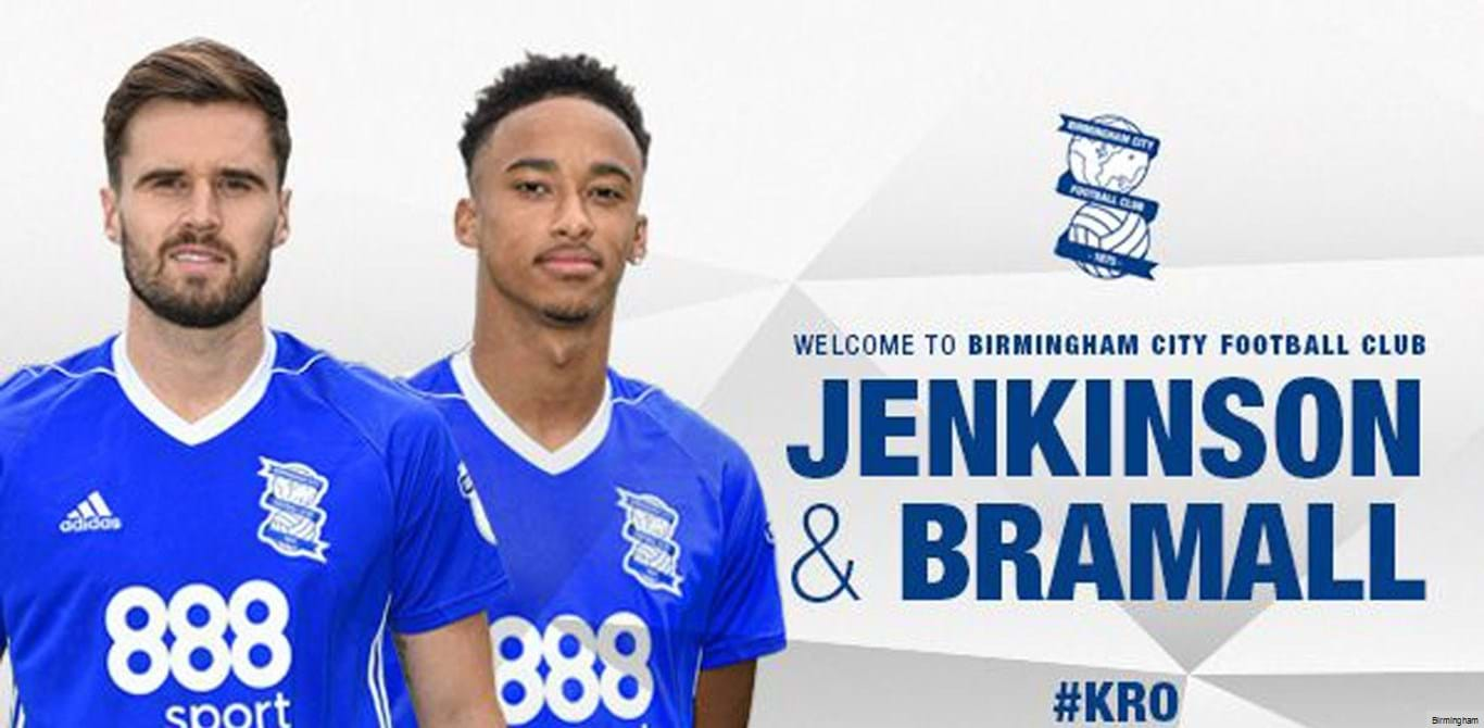 Birmingham recebe dois jogadores do Arsenal