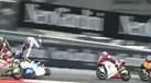Arranque do Moto2 marcado por acidentes