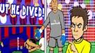Assim foi a 1.ª mão da Supertaça de Espanha: uma verdadeira paródia