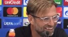Klopp não desiludiu na reação à presença na Champions