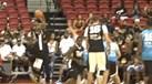 Mayweather deu show de basquetebol após derrotar McGregor