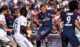 Paris SG começa Ligue 1 com vitória