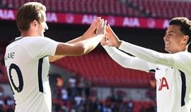 Tottenham derrota Juventus no fecho da pré-época