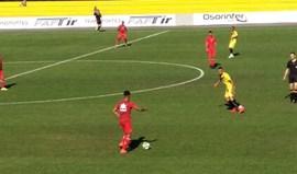 Derrota por 1-0 em jogo-treino com o Fafe
