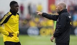 Dembélé castigado pelo Borussia Dortmund