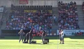 Jogo de preparação entre Athletic Bilbao e Alavés interrompido a um minuto do fim