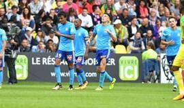 Lyon, Marselha e Saint-Étienne repartem provisoriamente a liderança