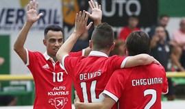 Benfica vence torneio no Barreiro