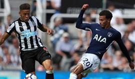 Tottenham vence em St. James Park