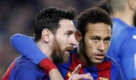 Messi para Neymar: «Eu faço de ti Bola de Ouro»