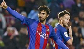 André Gomes e Nélson Semedo nos convocados do Barcelona