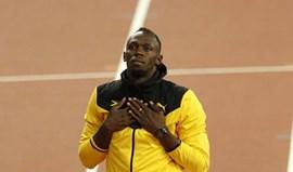 Bolt andou... em noitadas