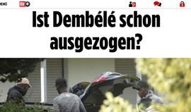 Dembélé já fez as malas para deixar o Borussia Dortmund