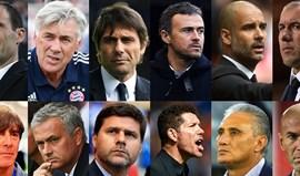 José Mourinho e Leonardo Jardim candidatos a treinador do ano FIFA