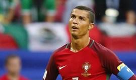 Cristiano Ronaldo consternado com as notícias sobre o atentado em Barcelona