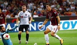 André Silva brilha na goleada do Milan