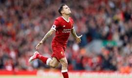 Liverpool rejeitou proposta por Coutinho de 125 milhões