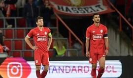 Bélgica: Sá Pinto goleado em casa