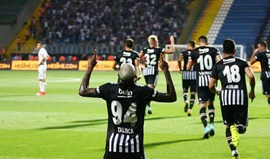 Turquia: Talisca marca no empate do Besiktas