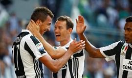 Juventus abre Serie A com vitória (3-0) sobre o Cagliari